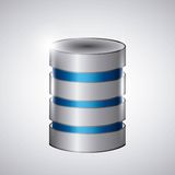 Ícone do alojamento web Projeto da tecnologia Gráfico de vetor Imagem de Stock
