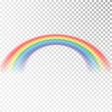 Ícone do arco-íris Luz colorida e elemento brilhante do projeto para decorativo Imagem abstrata do arco-íris Ilustração do vetor  ilustração royalty free