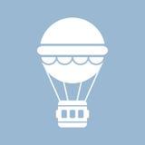 Ícone do balão de ar quente Fotografia de Stock Royalty Free