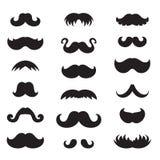 Ícone do bigode ilustração royalty free