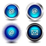 Ícone do botão Fotografia de Stock Royalty Free