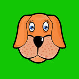 Ícone do cão Foto de Stock