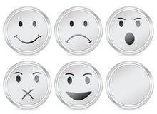 Ícone do círculo do sorriso ilustração do vetor