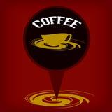 Ícone do café Imagens de Stock