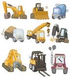Ícone do caminhão dos desenhos animados ilustração royalty free