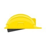 Ícone do capacete da construção ilustração do vetor