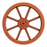 Ícone do carro da roda, estilo dos desenhos animados ilustração do vetor