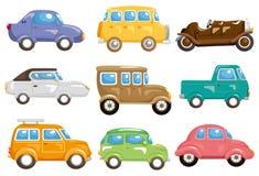 Ícone do carro dos desenhos animados Foto de Stock