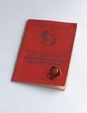 Ícone do cartão de Komsomol Foto de Stock Royalty Free