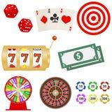 Ícone do casino Fotografia de Stock