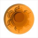 Ícone do chakra de Svadhishthana Fotos de Stock Royalty Free