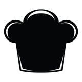 Ícone do chapéu do cozinheiro chefe Fotografia de Stock Royalty Free