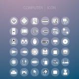Ícone do computador Imagens de Stock Royalty Free