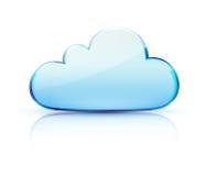 Ícone do conceito da nuvem Foto de Stock
