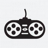 Ícone do controlador do jogo Imagens de Stock Royalty Free