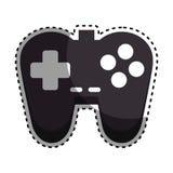 Ícone do controle do jogo de vídeo ilustração do vetor