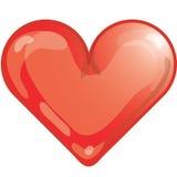 Ícone do coração Fotos de Stock Royalty Free