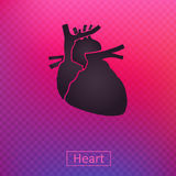 Ícone do coração Fotografia de Stock