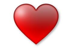Ícone do coração Fotografia de Stock Royalty Free
