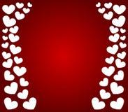 Ícone do coração do Valentim ilustração royalty free