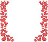 Ícone do coração do Valentim ilustração do vetor