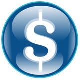 Ícone do dólar Imagem de Stock Royalty Free