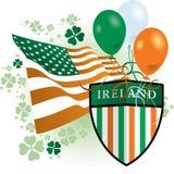 Ícone do dia do St Patrick Imagem de Stock
