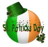 Ícone do dia do St Patricks Foto de Stock Royalty Free