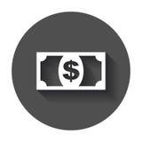 Ícone do dinheiro Fotos de Stock