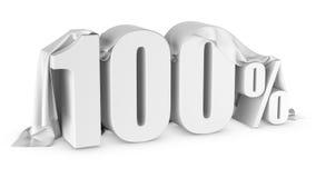 Ícone do disconto dos por cento Imagem de Stock