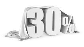 Ícone do disconto dos por cento Fotografia de Stock Royalty Free