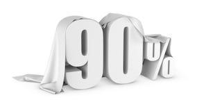 Ícone do disconto dos por cento Foto de Stock Royalty Free
