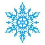 Ícone do floco de neve Illlustration do vetor Fotografia de Stock