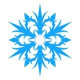 Ícone do floco de neve Illlustration do vetor Foto de Stock