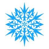 Ícone do floco de neve Illlustration do vetor Imagens de Stock Royalty Free