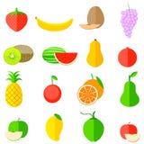 Ícone do fruto Fotos de Stock Royalty Free