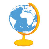 Ícone do globo do vetor Fotografia de Stock