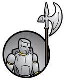 Ícone do guerreiro Imagem de Stock Royalty Free