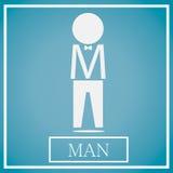 Ícone do homem Fotos de Stock