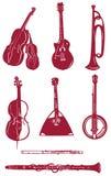 Ícone do instrumento musical Ilustração Royalty Free