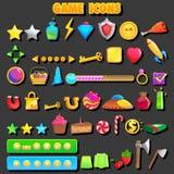 Ícone do jogo Fotografia de Stock Royalty Free
