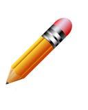 Ícone do lápis Fotografia de Stock Royalty Free