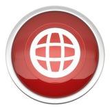 Ícone do mundo Imagem de Stock