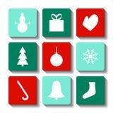 Ícone do Natal imagens de stock royalty free