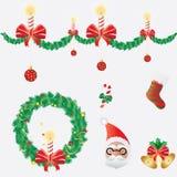 Ícone do Natal Foto de Stock Royalty Free