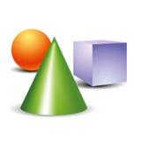 Ícone do objeto Foto de Stock Royalty Free