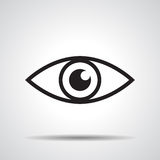 Ícone do olho Imagem de Stock