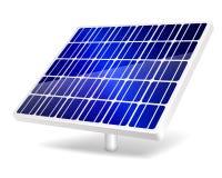 Ícone do painel solar. Fotografia de Stock Royalty Free