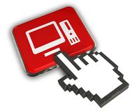 Ícone do PC Imagens de Stock
