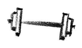 Ícone do peso ilustração stock